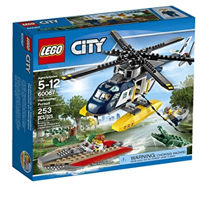 LEGO City Police Helicopter Pursuit (Discontinued by manufacturer): Toys & Games