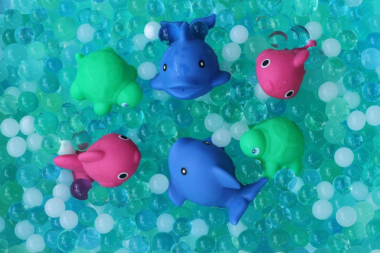 4 Colors Sensory Beads Water Sensory Bags Water Beads Ocean Tactile Sensory Experience 8,000ct