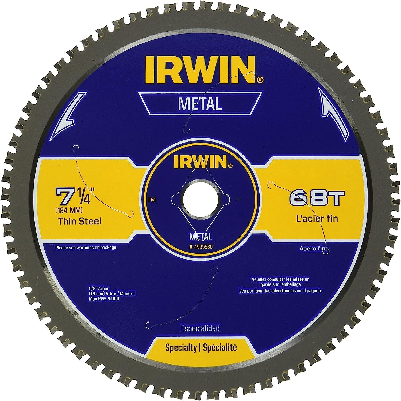 Irwin 7-1/4-Inch Metal-Cutting Circular Saw Blade