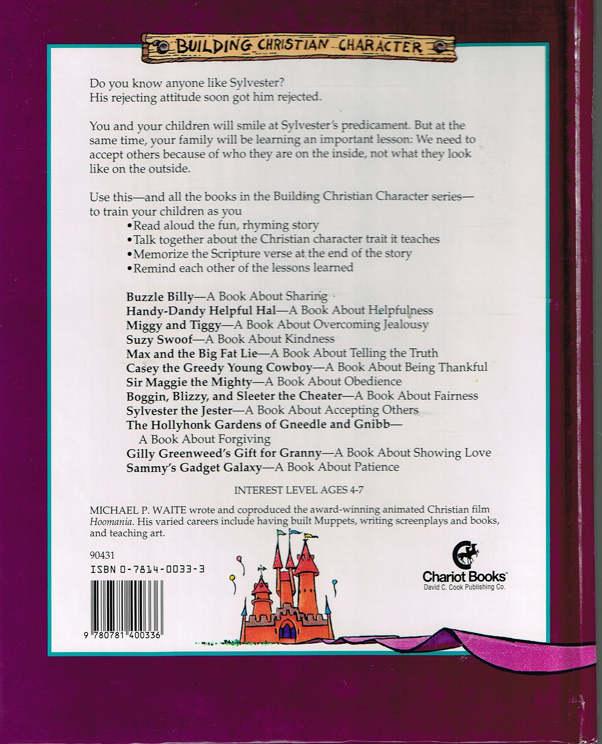 sylvester the jester a book about accepting others building