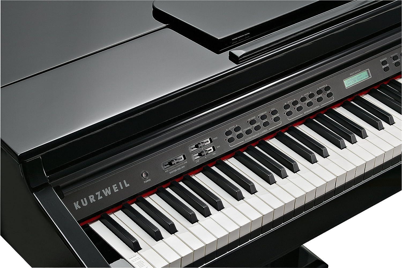 Kurzweil KAG100 - Piano digital de ébano pulido para bebé