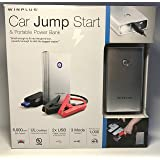 Winplus Car Jump Start & Portable Power Bank - Small Size Lots of Power!