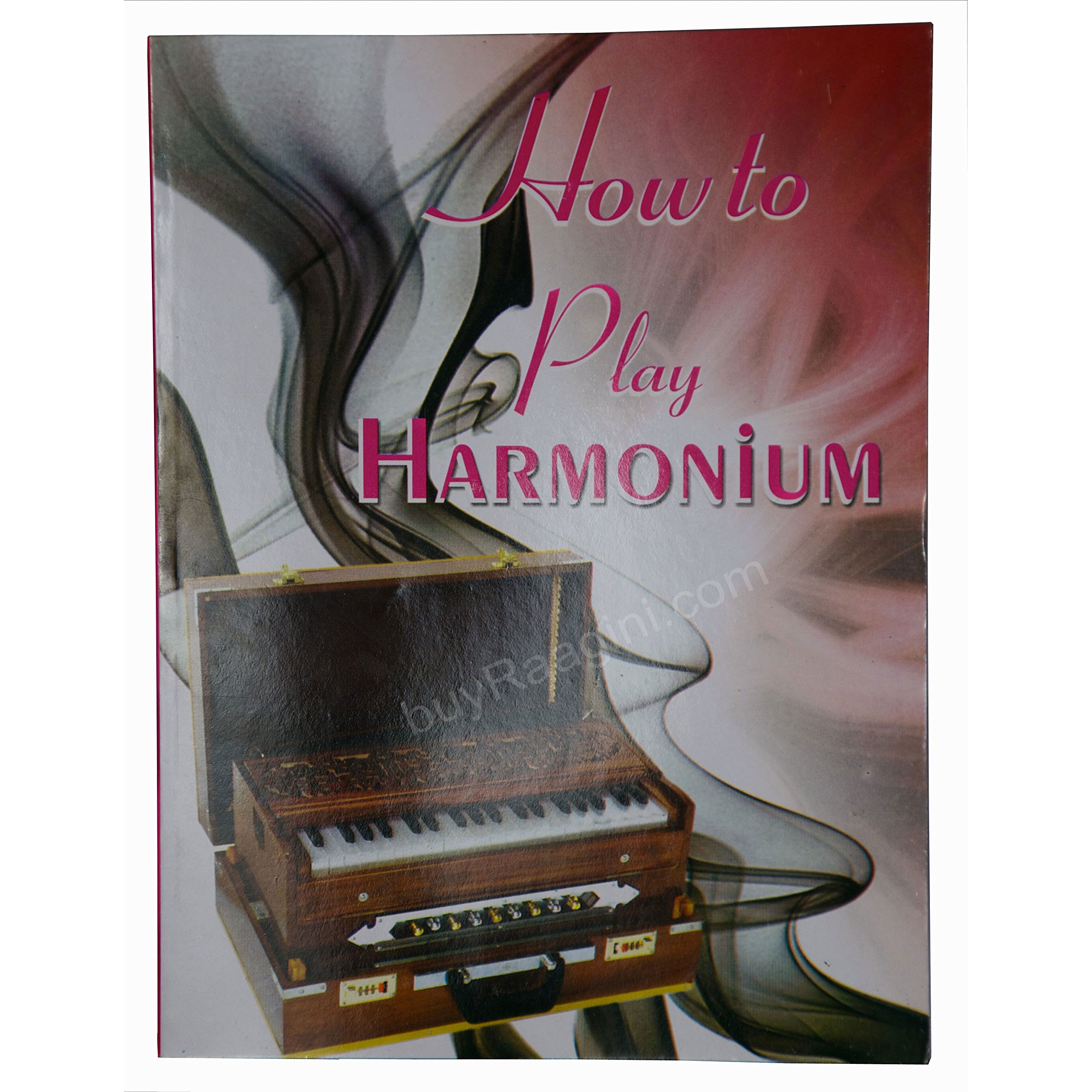Harmonium, Maharaja Musicals, Scale Changer, In USA, Folding, 13 Scales, 4 Reeds, Dark Color, Tuned To A440, Teak Wood, Padded Bag, Book, Musical Instrument Calcutta India (PDI-BDF) by Maharaja Musicals