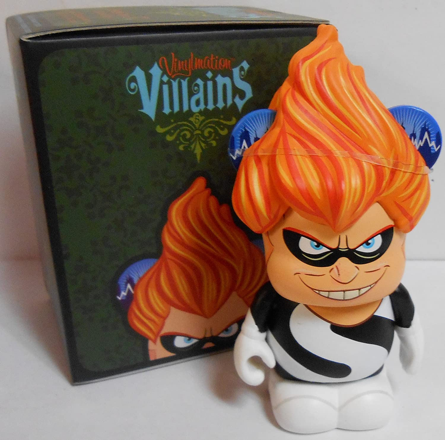 Amazon Com Villains Series 5 Syndrome The Incredibles 3 Inch Figure Toys Games