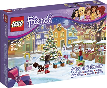 Amazon.com: LEGO Friends 41102 Advent Calendar Building Kit: Toys
