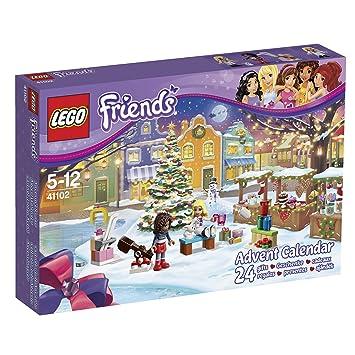 Lego Friends Calendrier De L Avent.Lego Friends 41102 Jeu De Construction Le Calendrier De L Avent