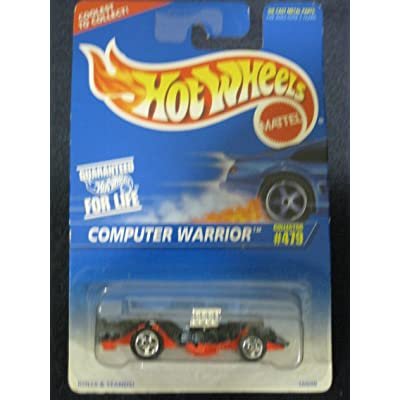 Hotwheels Computer Warrior Collector #479 by Mattel: Toys & Games