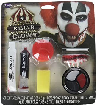 Halloween Killer Clown Schminken Kit Amazonde Spielzeug