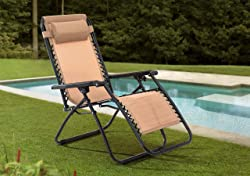 Sunjoy Zero Gravity Chair - 6 Colors