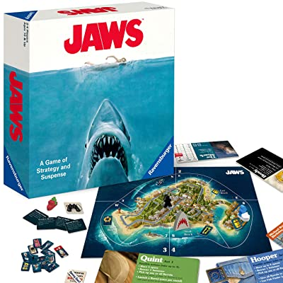 Ravensburger Jaws Board Game for Age 12 and Up - A Game of Strategy and Suspense: Toys & Games