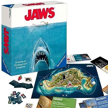 Amazon.com: Ravensburger Jaws Juego de mesa para niños de 12 ...