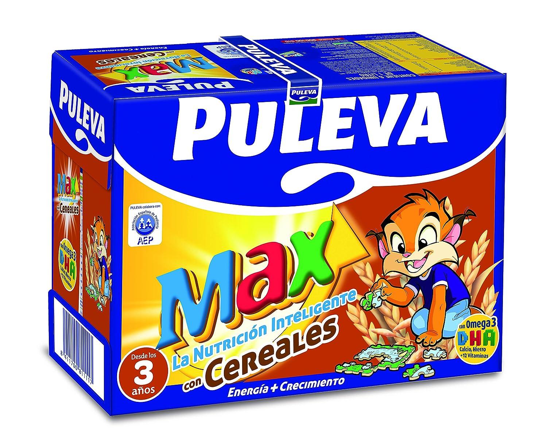 Puleva Leche Max Energía y Crecimiento con Cereales - Pack 6 x 1 L - Total: 6 L: Amazon.es: Amazon Pantry