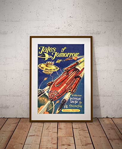 Tales of Tomorrow Science Fiction Vintage Reproduction Art Poster 24x36 inches
