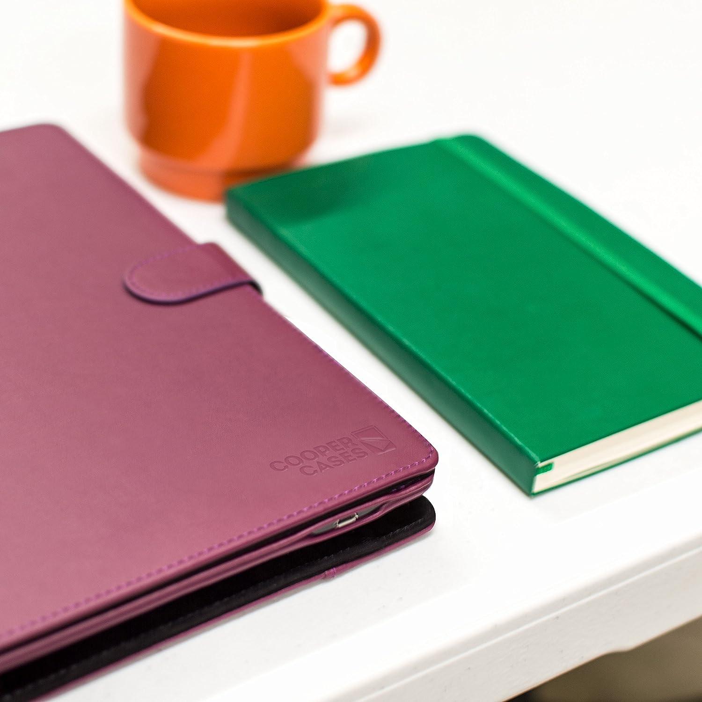 Funda con Teclado Samsung Galaxy Tab S3 9.7 Cooper Infinite Executive Funda Tipo Carpeta 2 en 1, Cuero, Teclado Bluetooth inalámbrico, Soporte + SM-T820 T825 (Azul Oscuro): Amazon.es: Electrónica