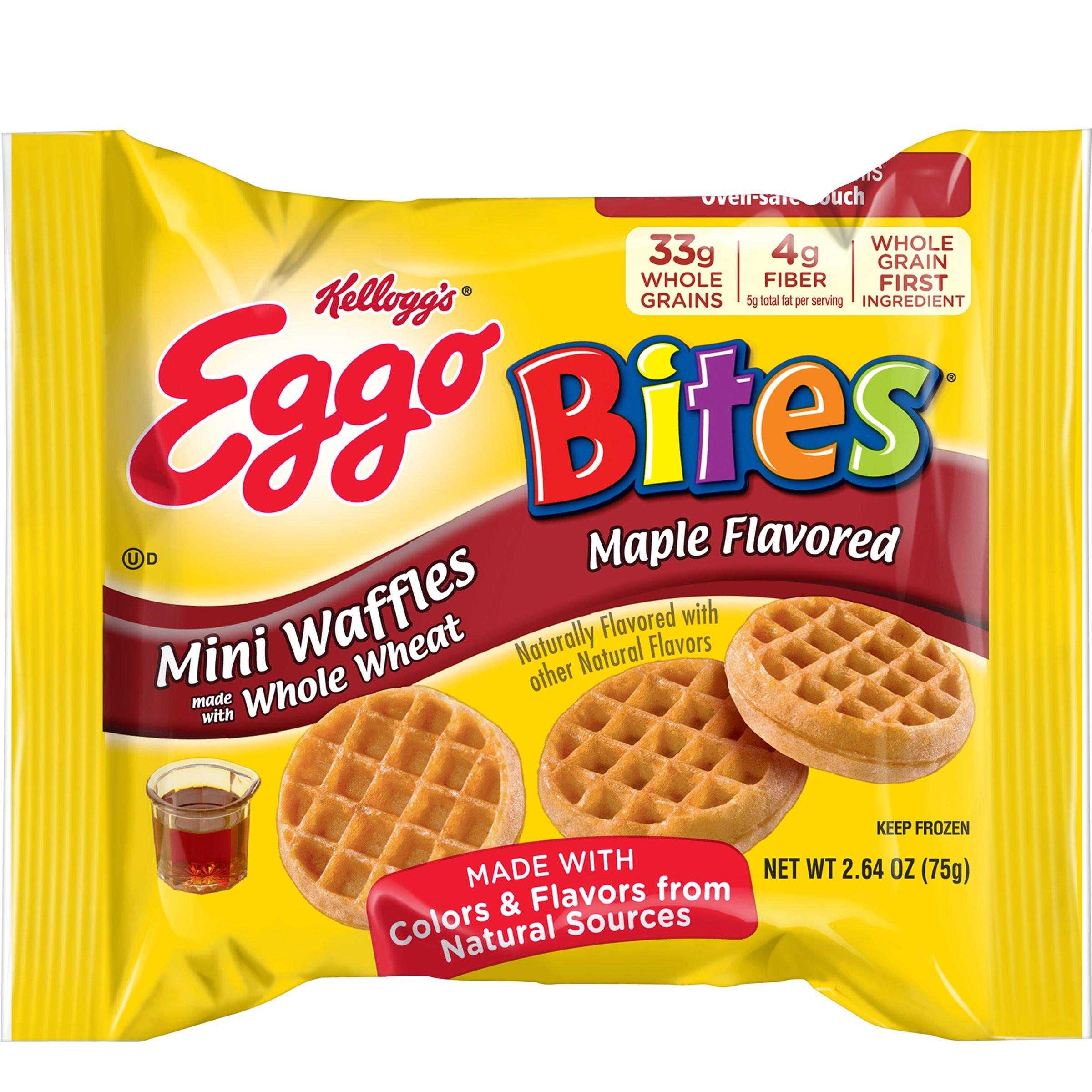 Kellogg's Eggo Waffle Bites Maple, 2.64 oz., (72 count)