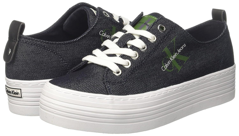 Calvin Klein Zolah Denim, Zapatillas para Mujer: Amazon.es: Zapatos y complementos