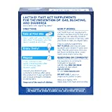 Lactaid Fast Act Lactose Intolerance Relief Caplets with Lactase Enzyme, 32 Travel Packs of