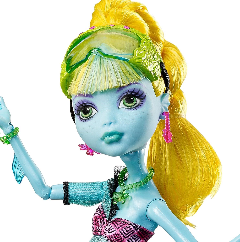 Amazon.es: Monster High - Muñeca Lagoona, 13 Wishes (Mattel BBV48) [importado de Inglaterra]: Juguetes y juegos