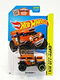2015 Hot Wheels HW Off-Road Battle Kings Bad Mudder 2 #88/250 (Orange) (BlackOR6SP Wheels) in Protecto Pak