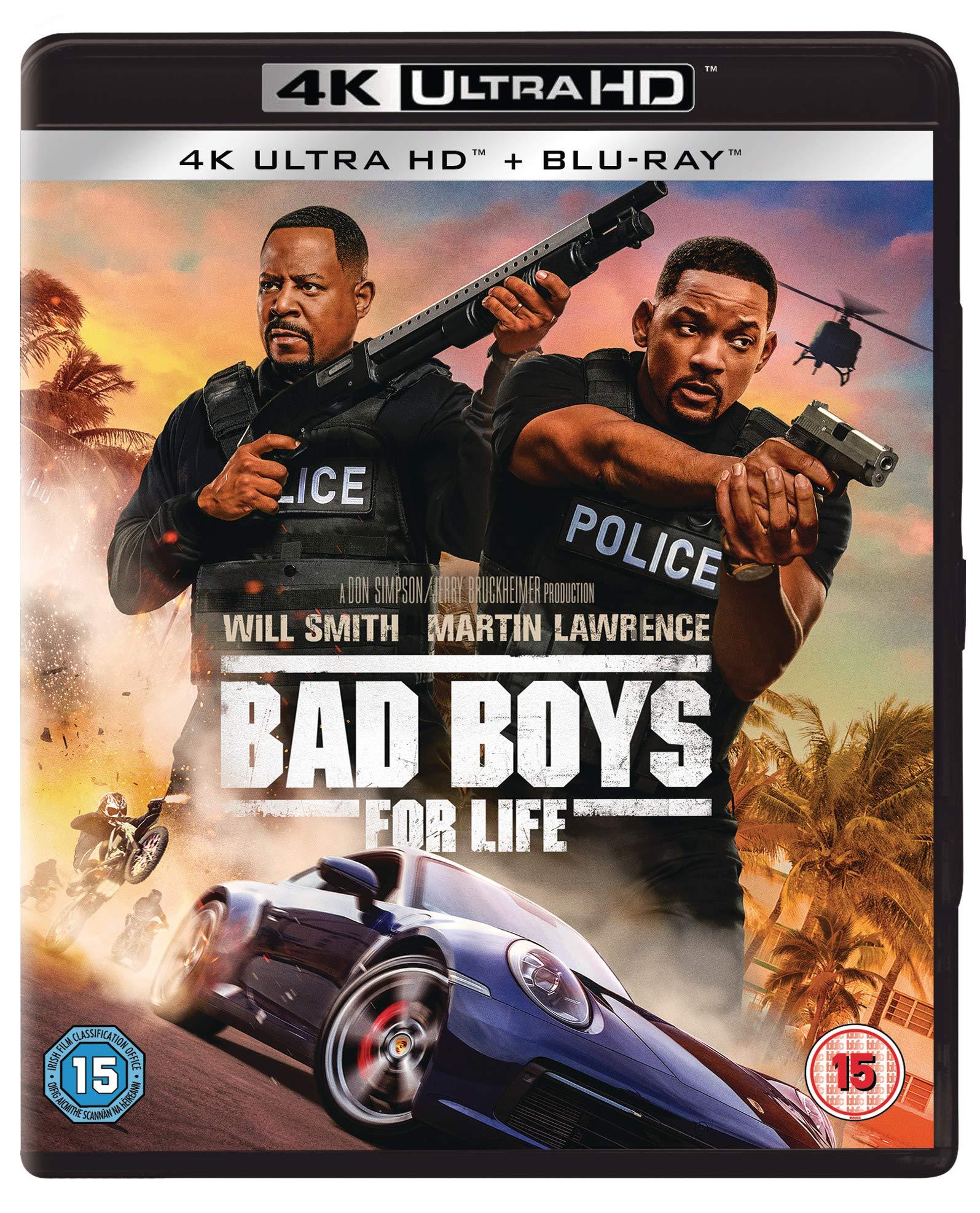 Bad Boys For Life (2 Discs - 4K UHD & BD) [Blu-ray] [2020] [Region Free]
