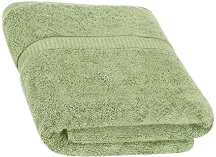 Utopia Towels Cotton Bath Sage Green 30 X 56 Inch Luxury