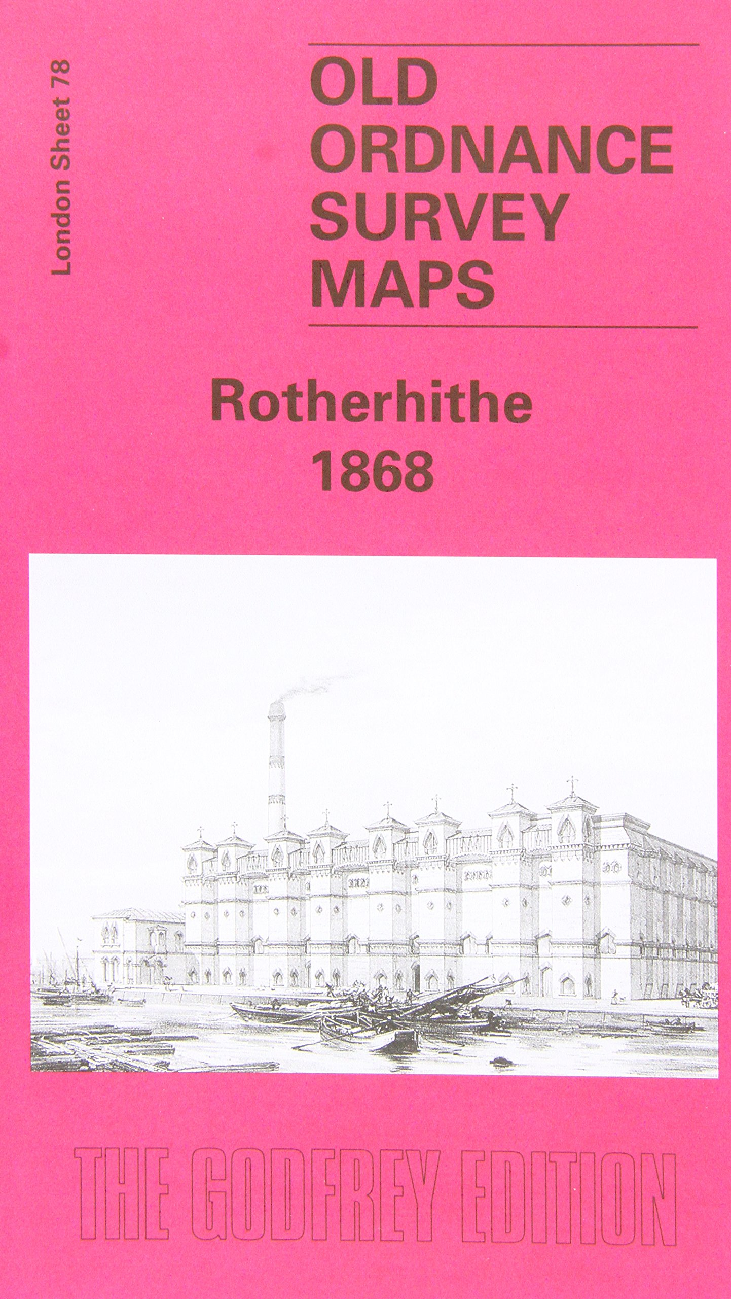 Read Online Rotherhithe 1867: London Sheet 078.1 (Old Ordnance Survey Maps of London) pdf epub