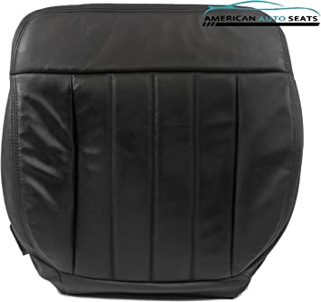 2006 Ford F150 Harley Davidson 4X4 AWD Driver Bottom Leather Seat Cover BLACK