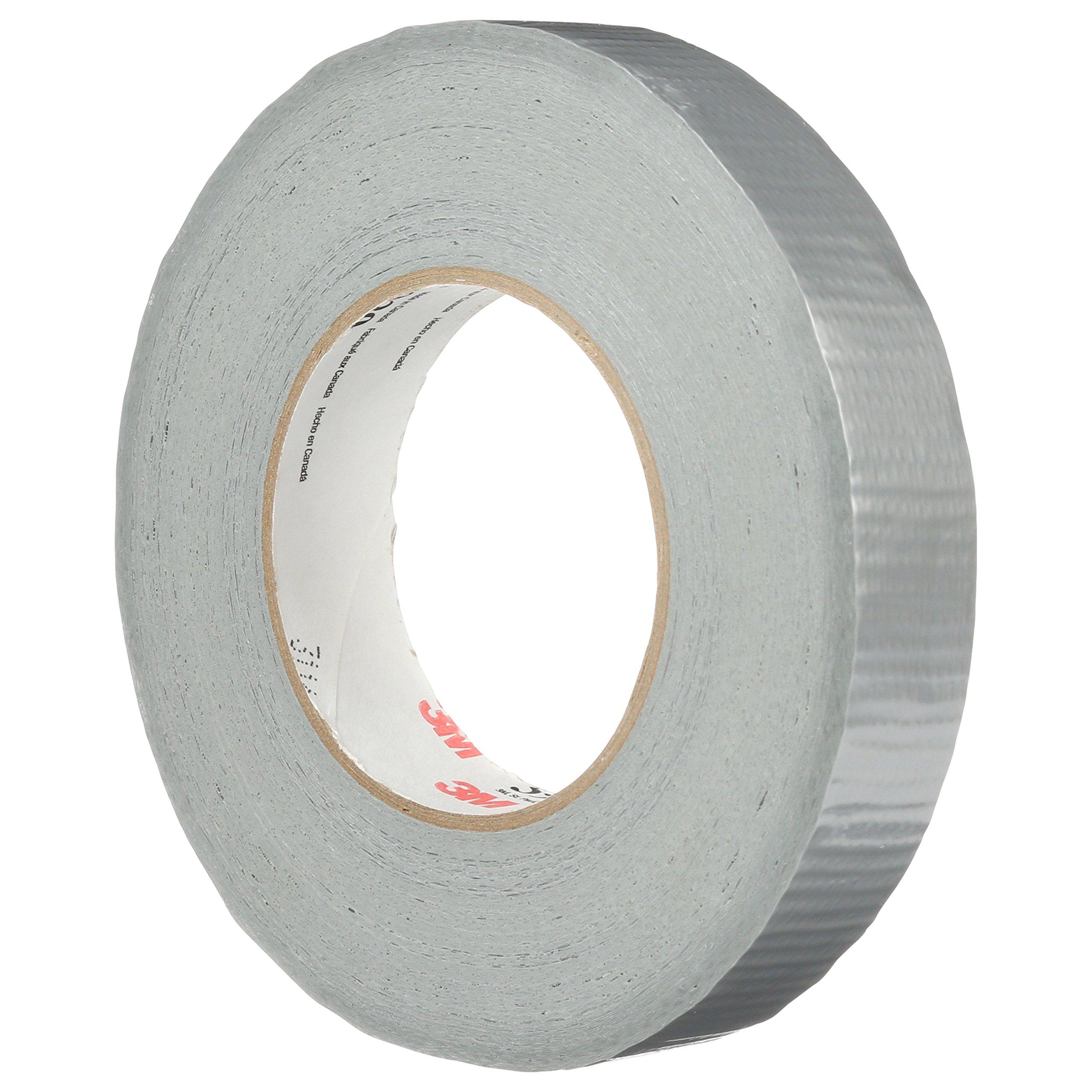 3M Heavy Duty Duct Tape 3939 Silver, 24 mm x 54.8 m 9.0 mil (Case of 36)