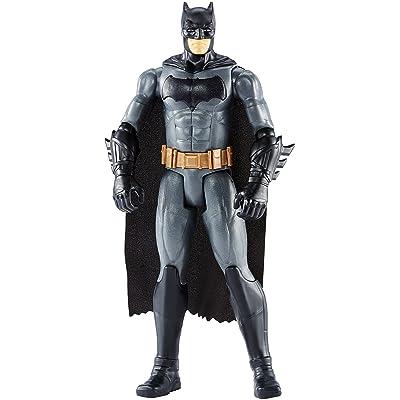 """DC Justice League True-Moves Series Batman Figure, 12"""": Toys & Games"""