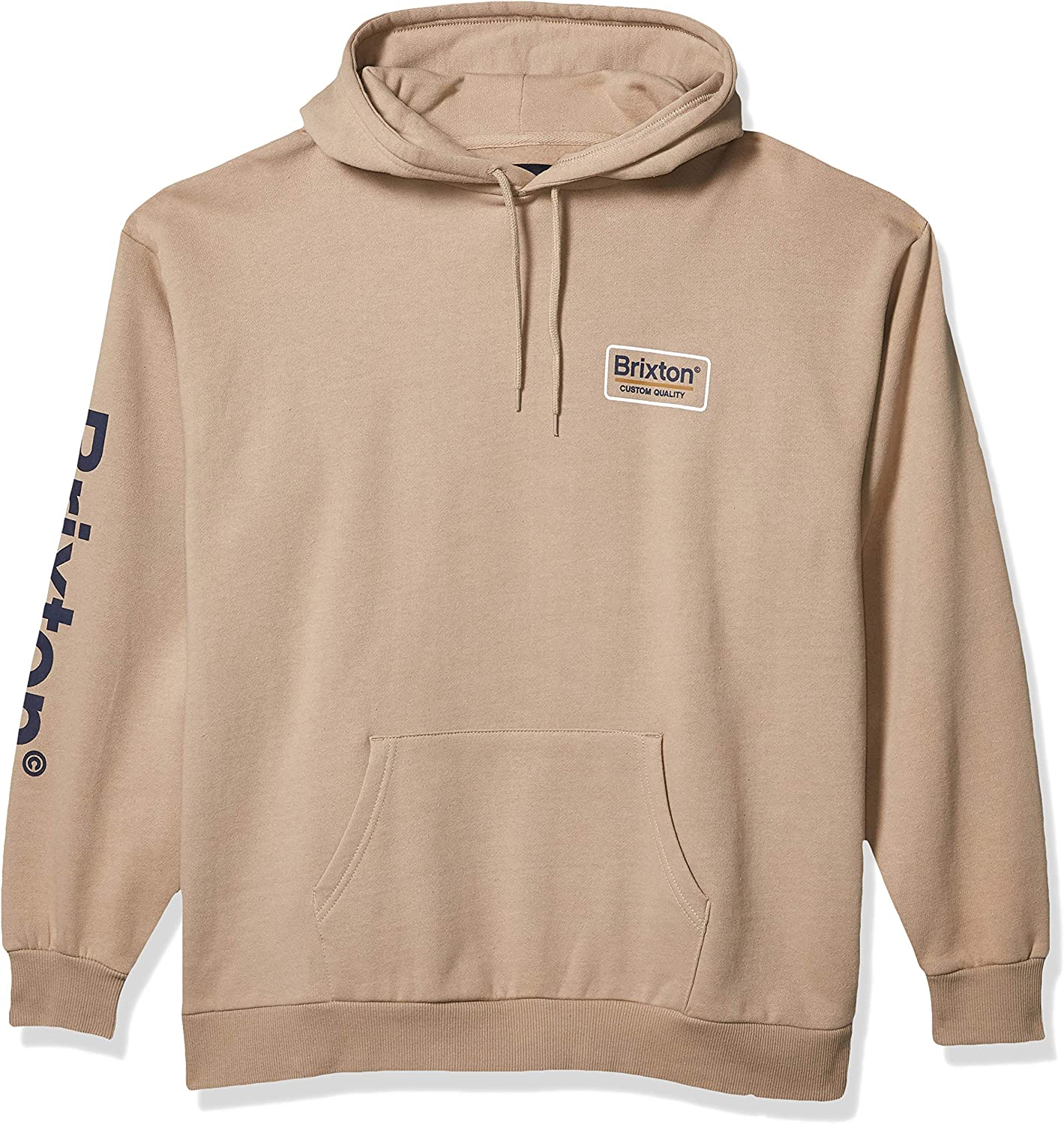 BRIXTON Mens Palmer Ii Relaxed Fit Hooded Fleece