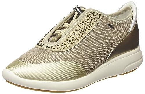 Zapatillas plateadas de Geox, €109 | Amazon.es | Lookastic