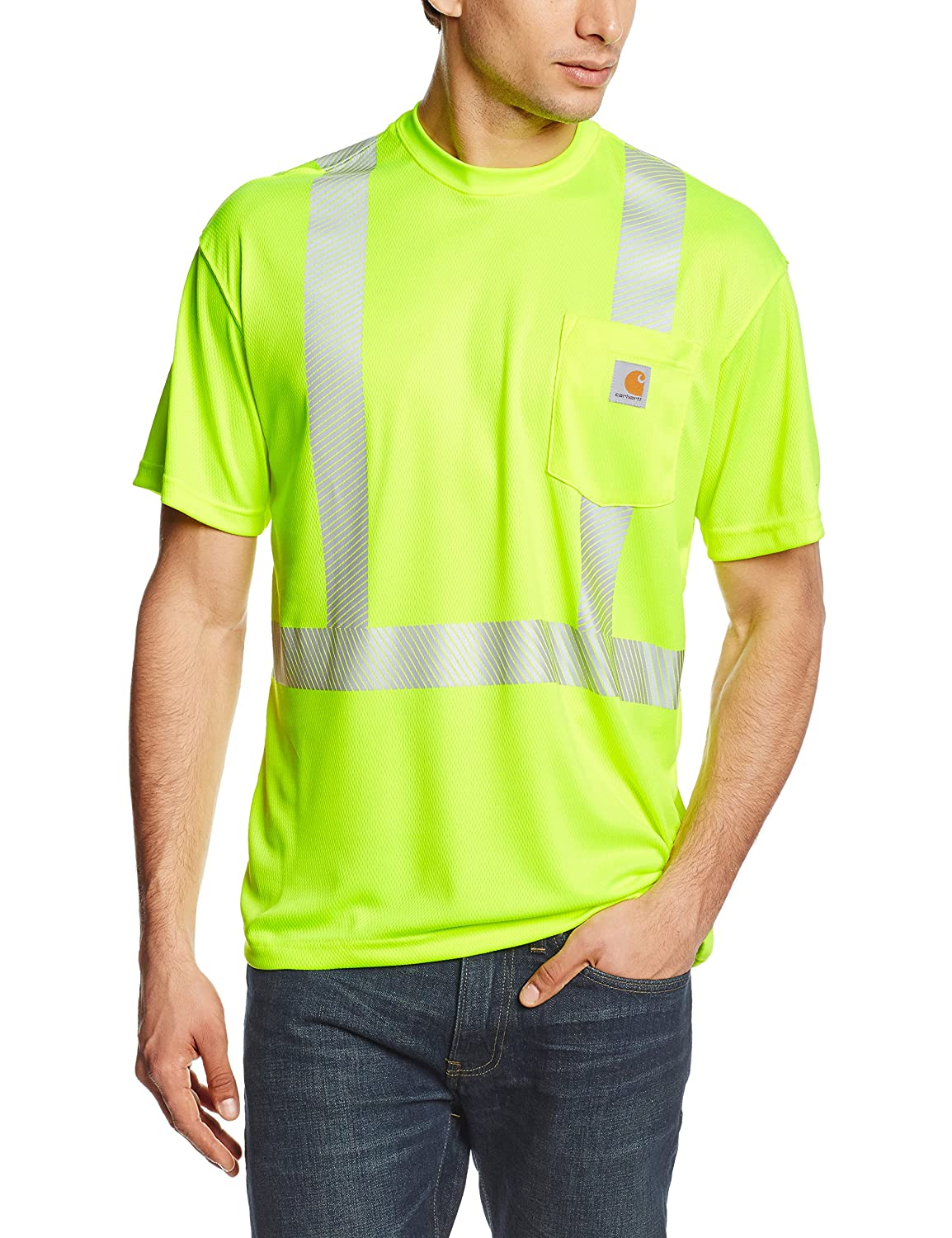 Workplace Safety Supplies Just 2017 New Summer Fashion Breathable Fluorescent Mesh Reflective T-shirt Short Sleeve Traffic Safety Warning Overalls
