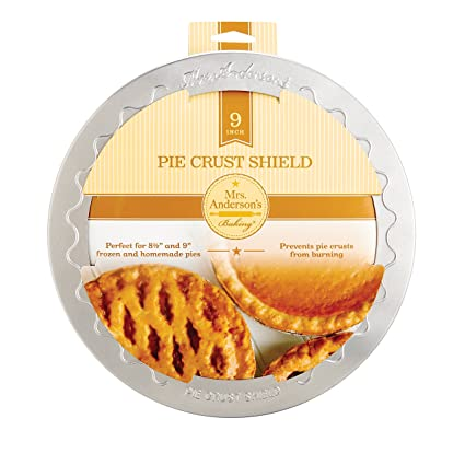 Mrs. Andersonu0027s Baking Pie Crust Protector Shield Fits 9-Inch Pie Plates  sc 1 st  Amazon.com : pie plates - pezcame.com