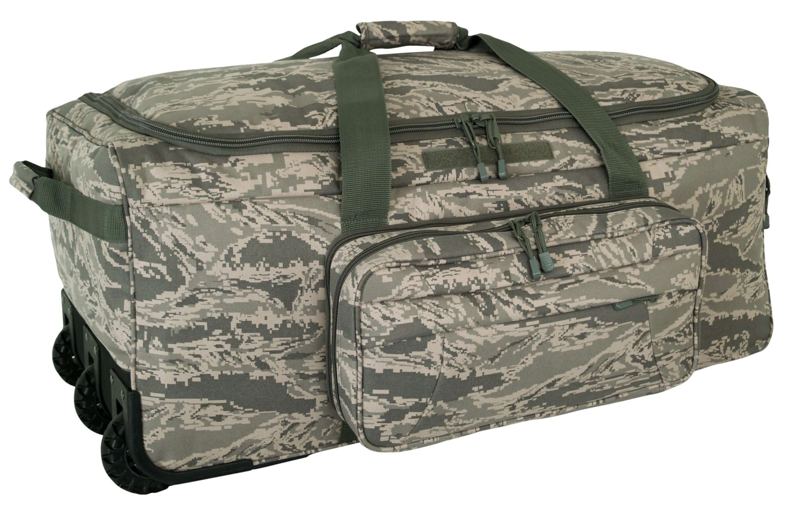 Code Alpha Mini Monster Wheeled Deployment Bag, Digital Camouflage