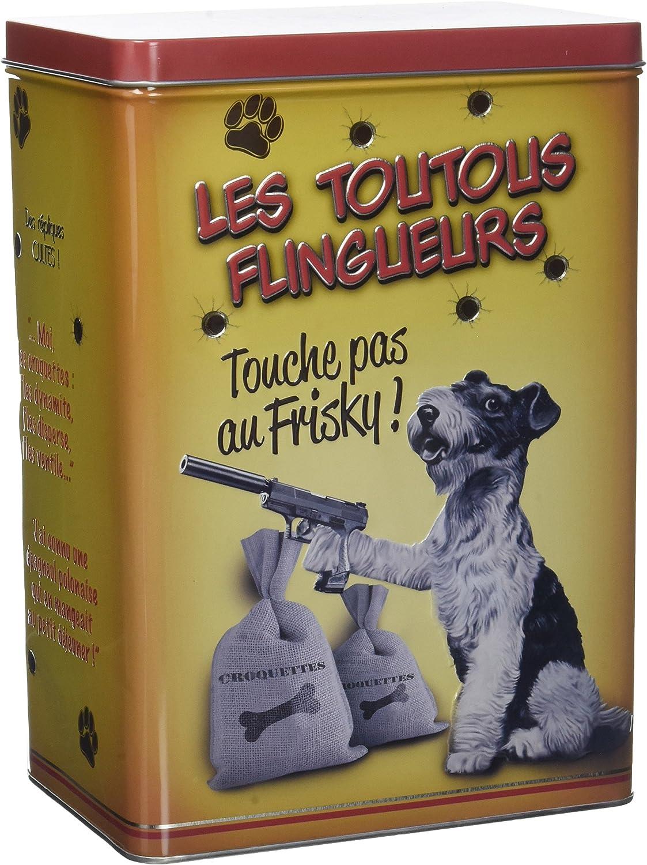 Natives les toutous Flingueurs Caja de pienso para Perro: Amazon.es: Productos para mascotas