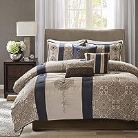 Madison Park Donovan 7 Piece Jacquard Comforter Set