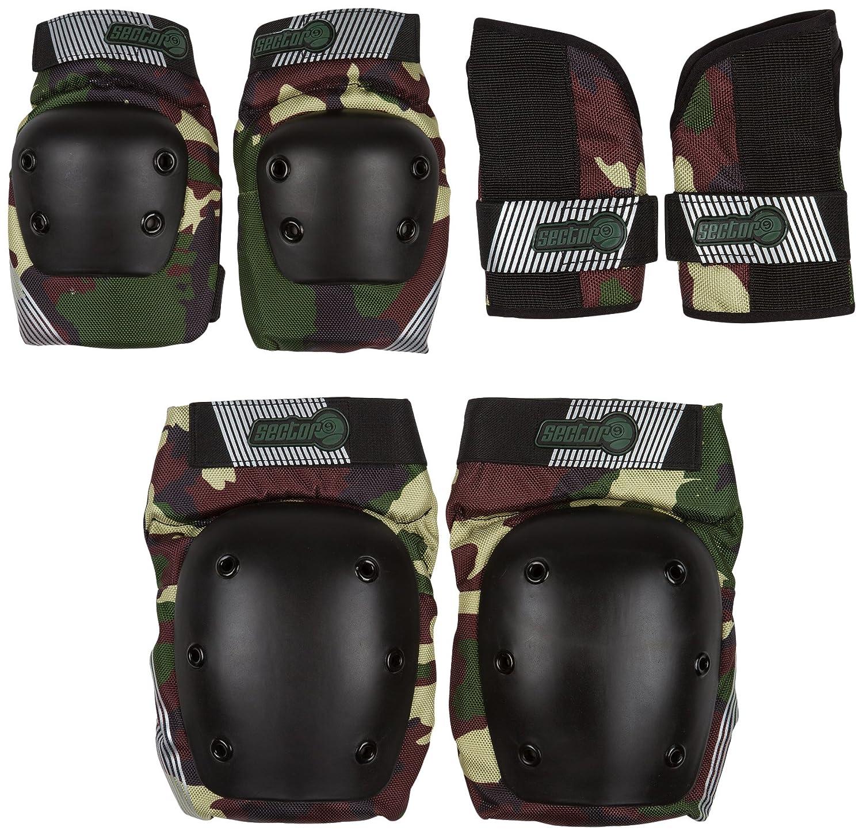 (Small B01AZD49Z8/Medium, Camouflage) - Set Sector 9 Sector Junior Pursuit Pad Set Protective Gear B01AZD49Z8, 緒方陶園:637cfbb0 --- bintelleapps.com