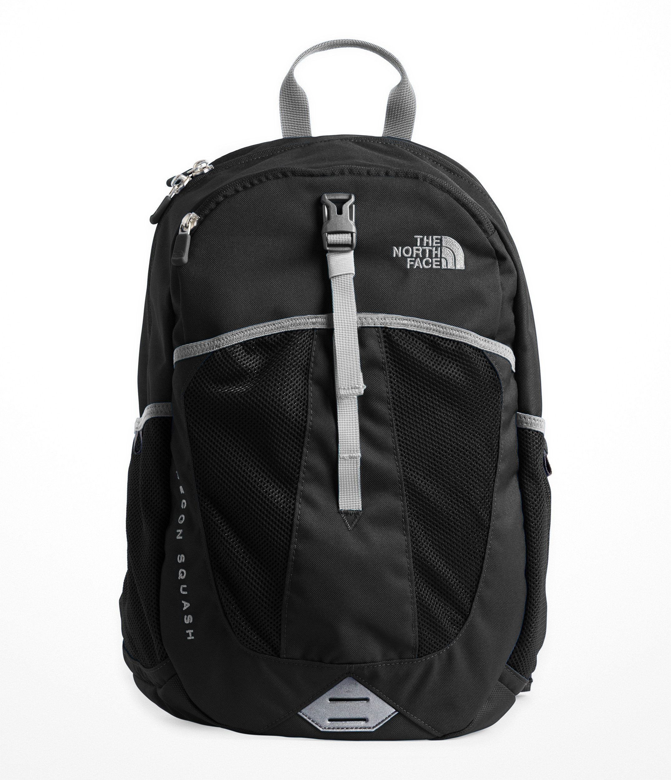 The North Face Youth Recon Squash Backpack, TNF Black/High Rise Grey by The North Face