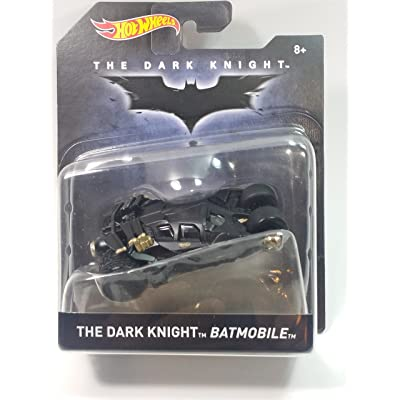 Hot Wheels Batman Premium Series The Dark Knight Batmobile 1/50 Diecast Car: Toys & Games