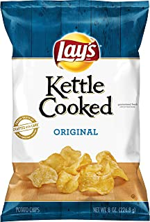 product image for Lay's Kettle Cooked Potato Chips, Original, 8 Oz
