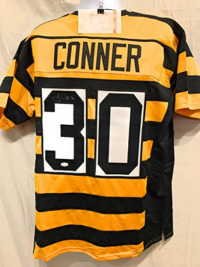 meet f40a8 b02f7 James Conner Pittsburgh Steelers Signed Autograph Throwback ...