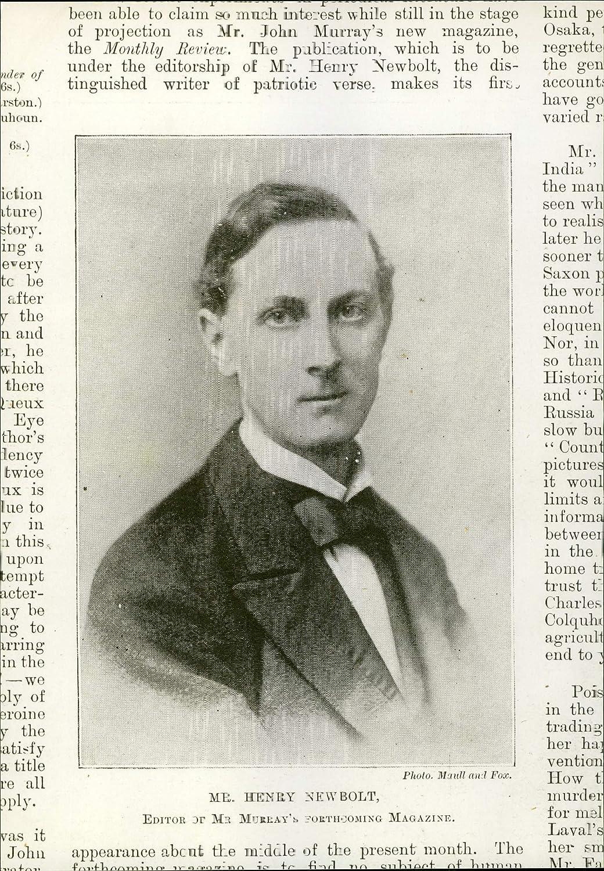 Henry Newbolt iction ture