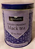 Bentleys English Breakfast Black Tea, 50 Tea Bags