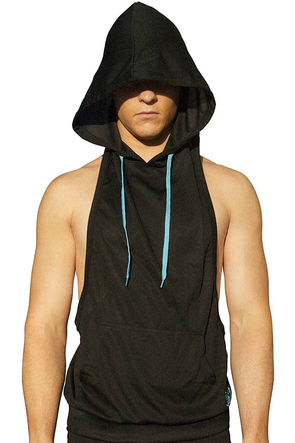 0ac89589d72761 NeonNation Muscle Cut Athletic Bodybuilder Stringer Tank Top Hoodie at  Amazon Men s Clothing store