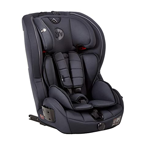 Mychild Stirling Group 123 ISOFIX Car Seat Charcoal
