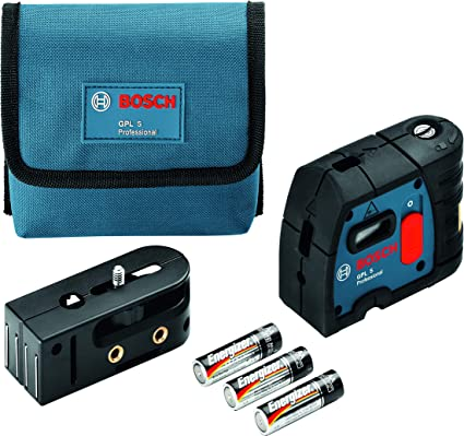 Bosch Professional Láser de 3 puntos GPL 3 (láser rojo, Alcance ...