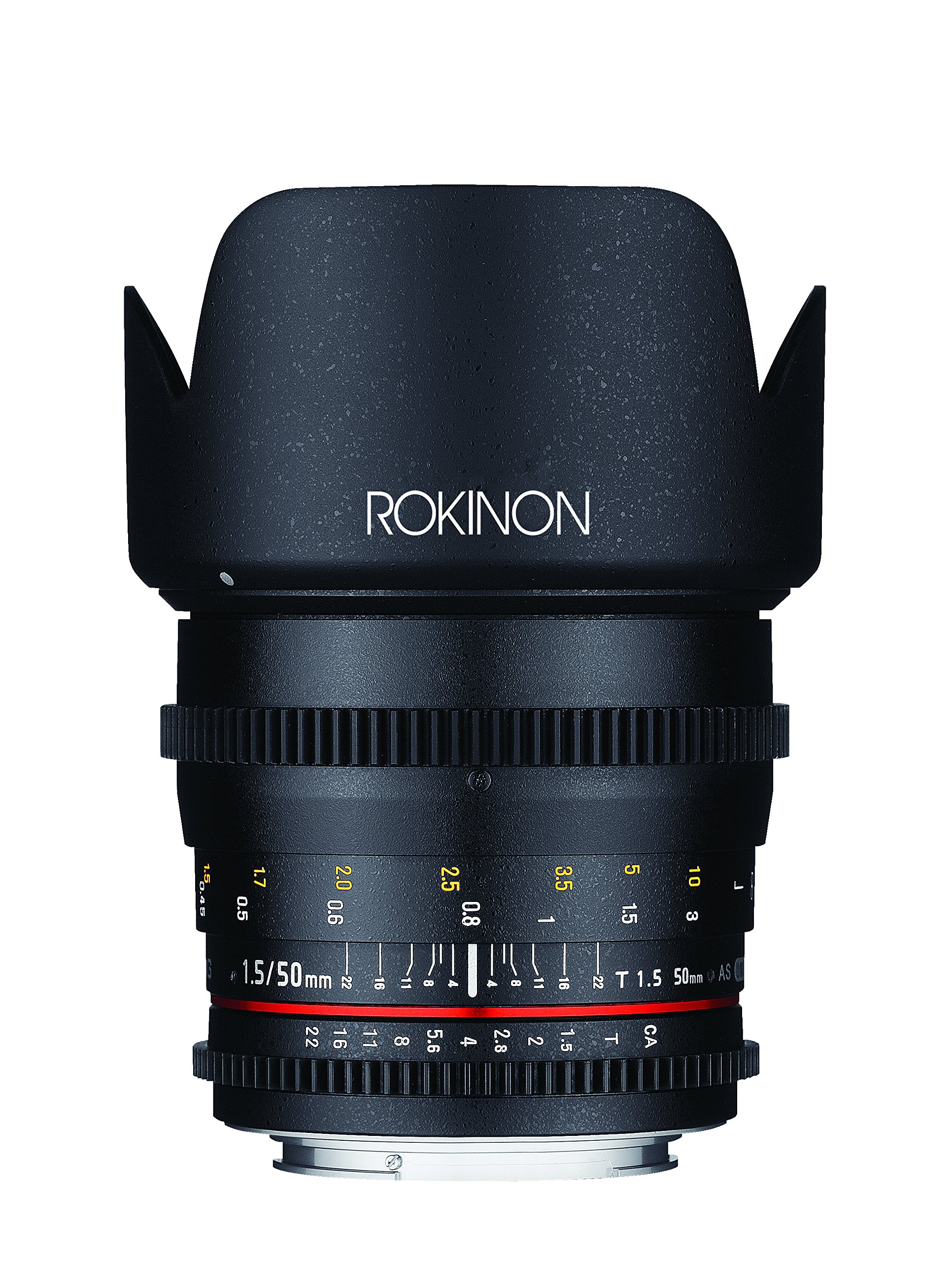 Rokinon Cine DS 50mm T1.5 AS IF UMC Full Frame Cine Lens for Nikon by Rokinon