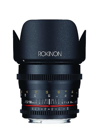 Amazon.com : Rokinon DS50M-MFT Cine DS 50 mm T1.5 AS IF UMC Full ...