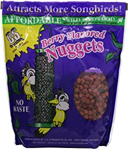 C & S Products Berry Flavored Nuggets, 6-Piece