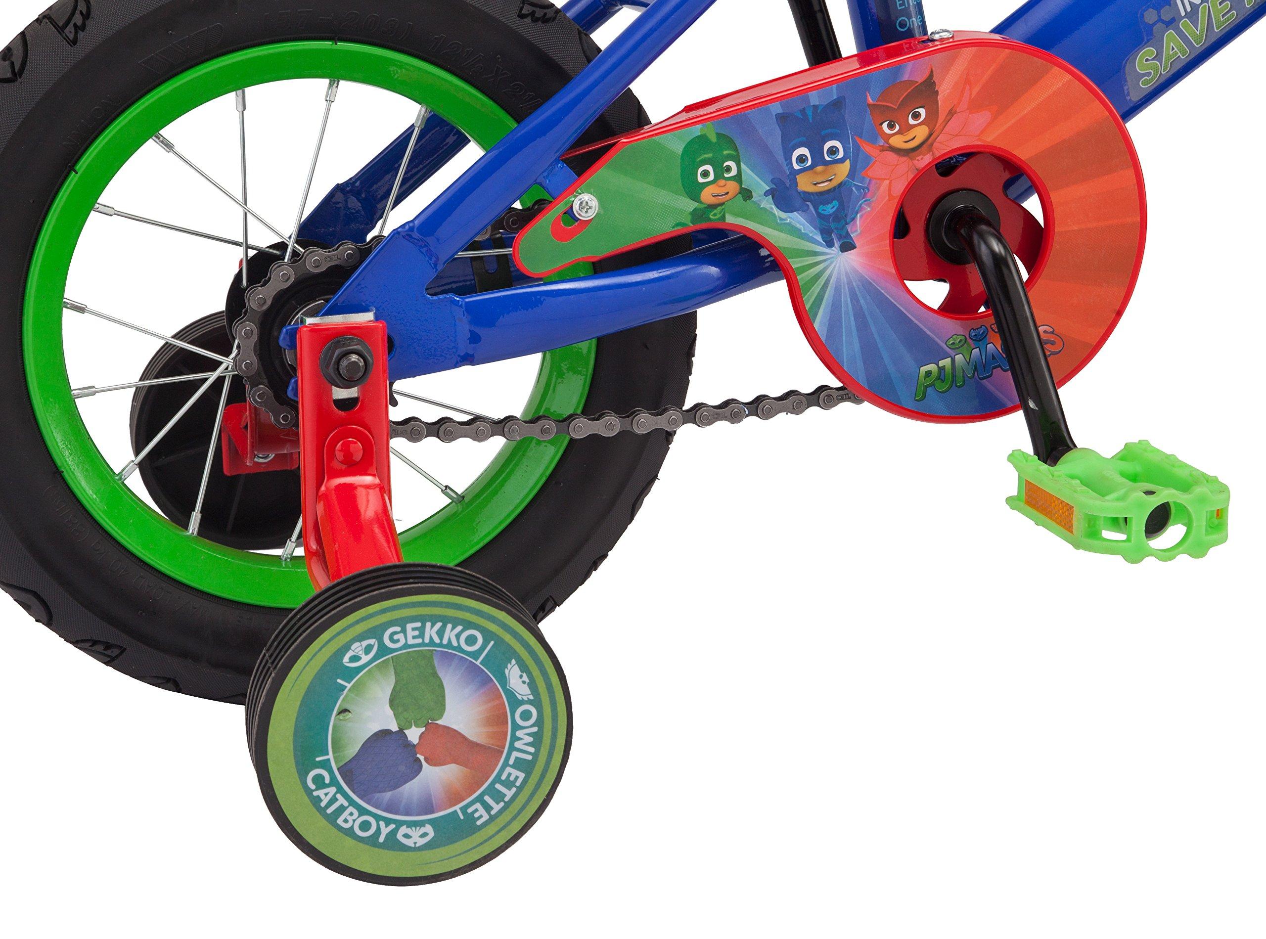 "PJ Masks Boy's 12"" Bicycle, Blue by PJMASKS (Image #5)"